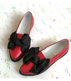 Red Spring Ballerinas