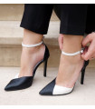 Black &amp White Stilettos