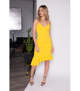 Sweet Yellow  Dress