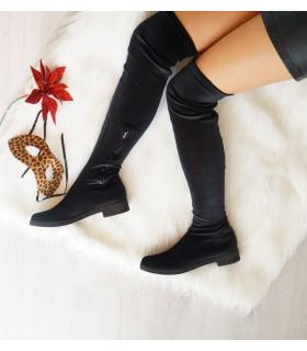 Casual Velvet Boots