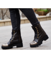 Gold Accent Boots