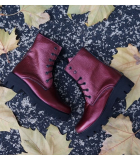 Burgundy Boots