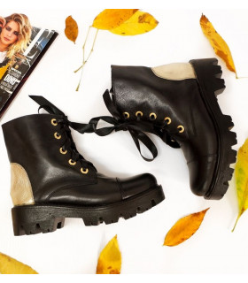 Black&ampGold Boots