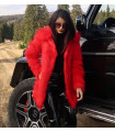 Red Fur Jacket