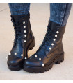 Pearls Boots