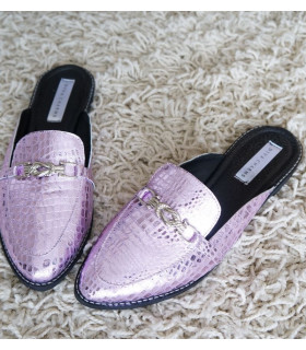 Purple Snake Mules
