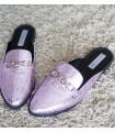 Purple Snake Mules