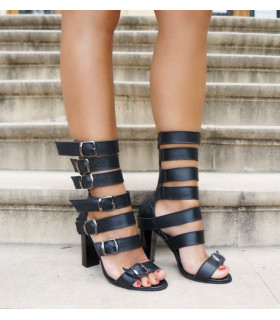 Multi Stripes Sandals