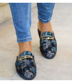 Blue Baroque Shoes