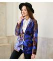 Purple Vintage Velvet Jacket