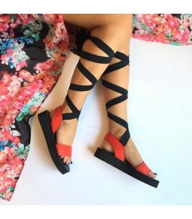 Red Diva Sandals