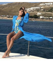 Blue Beach Caftan