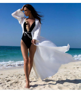 NEW White Beach Caftan