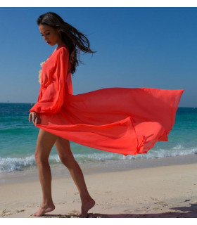 Red Beach Caftan