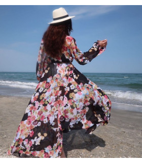 Beach Flowery Dress
