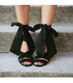 Black Diva Sandals