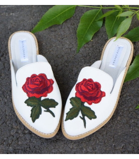 White Roses Shoes