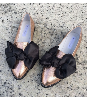 Rose Gold Ballerinas