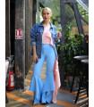 Blue Glam Pants