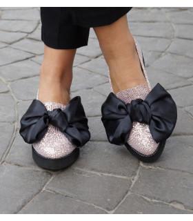 Sparkle Bow Ballerinas