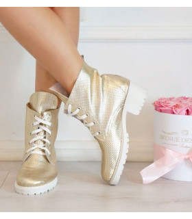 Golden Summer Boots