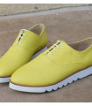 New Green Oxford Shoes