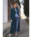 Azur Velvet Jacket