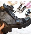 Black Transparent Boots