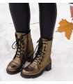 Gold Shimmer  Boots