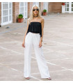 White Casual Trousers