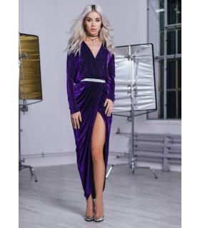 Classy Purple Dress