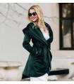 Velvet Green  Coat