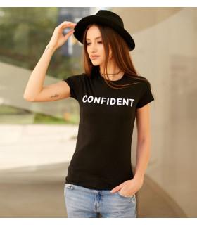 """Tricou  """" Confident """""""