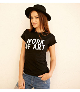 "Tricou ""Work of Art """