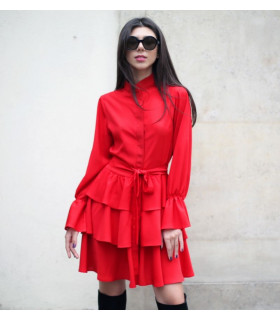 New Red Chic Dress