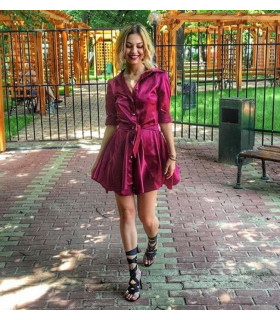 Burgundy Chic Dress