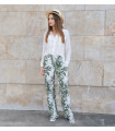 Green Leaf Pants