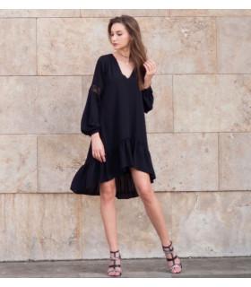 Black Waves Dress