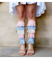 Pastel Fringes Gladiators