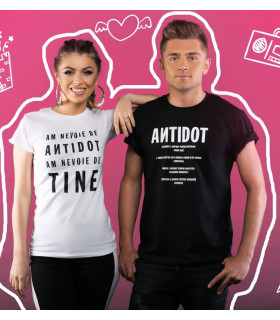 "Tricou ""ANTIDOT Quote"""