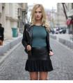 Black Bold Skirt