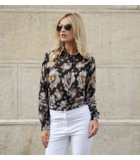 White Flowers Shirt