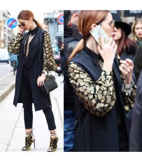 Camasa Black&Gold