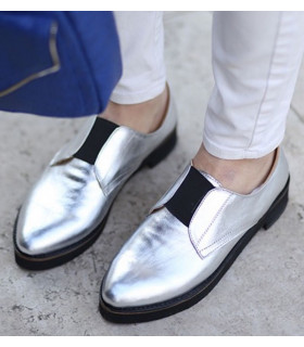 Silver Chic Shoes