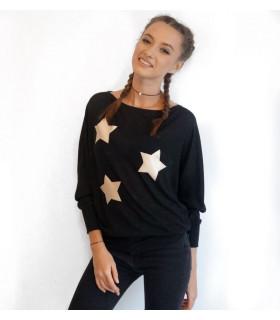 Gold Stars Sweater