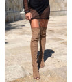 Summer Suede Boots