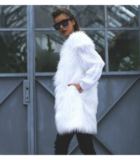 Vesta White Fur