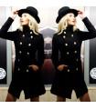Palton Bold & Black