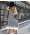 Grey Diva Dress