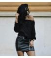 Black Casual Sweater